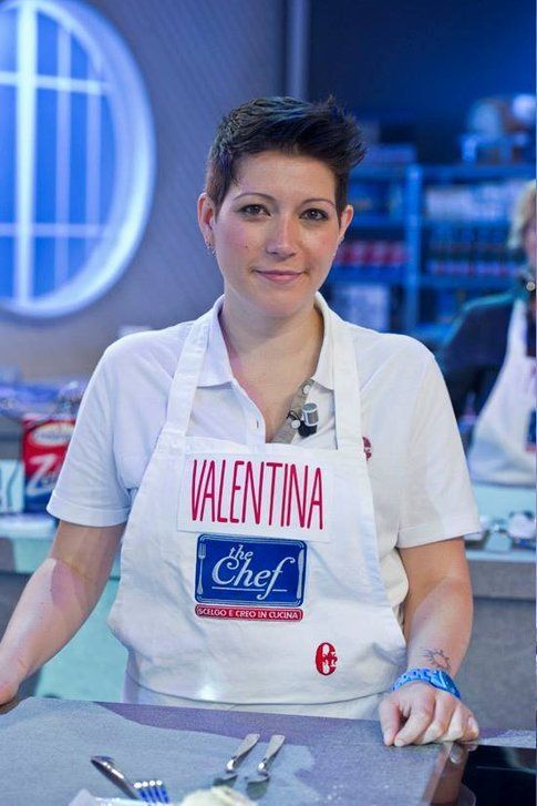 Valentina durante il programma The Chef