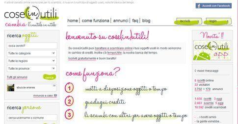 Baratto online. Fonte: coseinutili.it