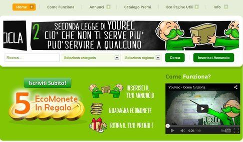 Baratto online. Fonte: yourec.it