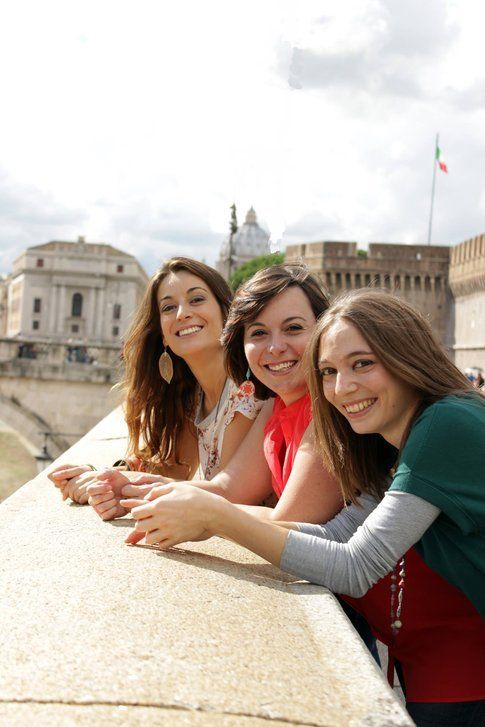 Valeria, Francesca e Marialessandra - Foto di Claudia Crescenzi