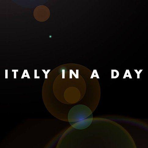 Italy in a day - immagine da pagina facebook ufficiale Italy in a day