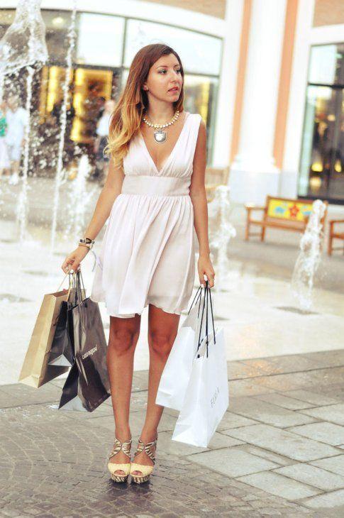 l'outfit casual di Sabrina Musco
