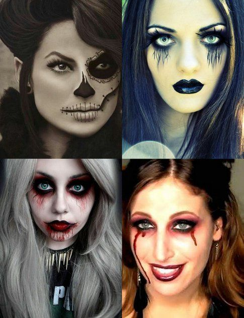"""Make-up per Halloween: qualche idea veloce per essere """"terrificanti"""""""