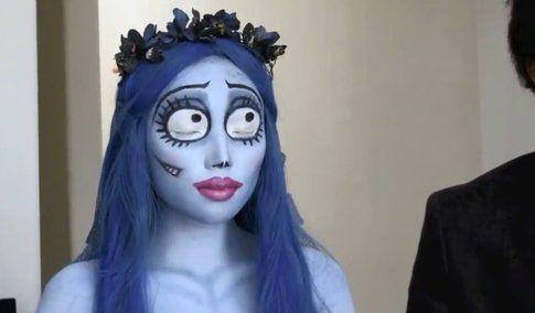 """Make-up per Halloween: qualche idea veloce per essere """"terrificanti"""" - fonte dope2111 su Youtube"""