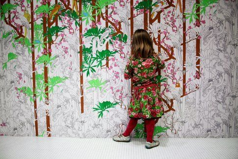 Maria Kirk Mikkelsen. Make Up the Wall