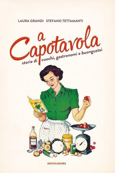 """Copertina del libro """"A capotavola"""""""
