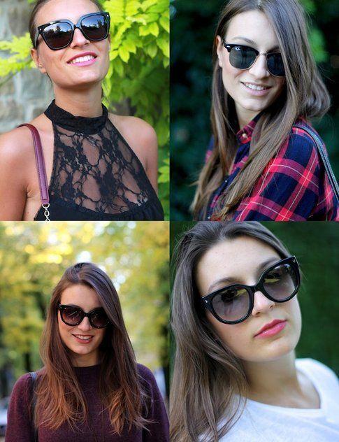 Occhiali da Sole: come abbinarli al rossetto - fonte. styleandtrouble.com