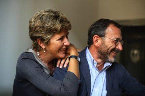 Gli autori: Laura Grandi e Stefano Tettamanti (photo credits Basso Cannarsa)