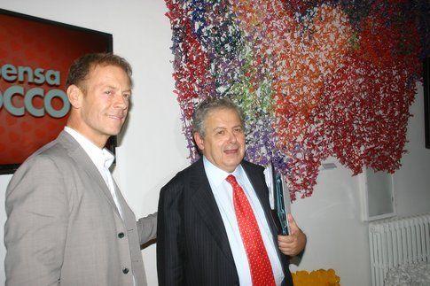 Rocco Siffredi durante la conferenza stampa - foto di Bigodino.it