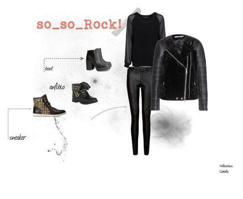 i miei consigli per un outfit Rock