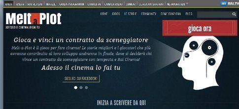 Melt a plot, screenshot da Meltaplot.rai.it