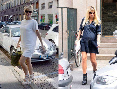 Abbigliamento Premaman: dove e cosa comprare! Michelle Hunziker Fonte: kikapress e Abaca