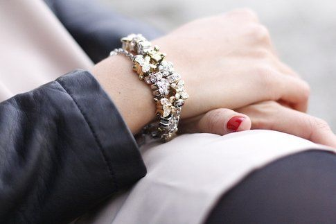 Look grintoso con accessori Morellato Drops