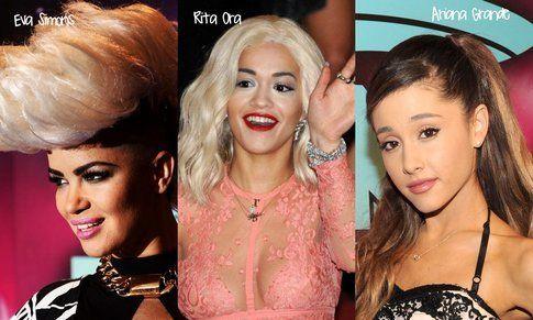 EMA 2013: Make-up TOP e FLOP - Fonte: Eva (Ian Gavan), Rita (Corbis Images) e Ariana ((Photo by Kevin Mazur)