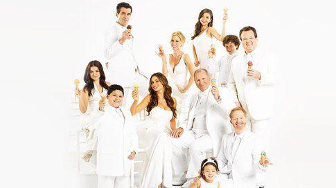 Il cast di Modern Family - foto Sky.com