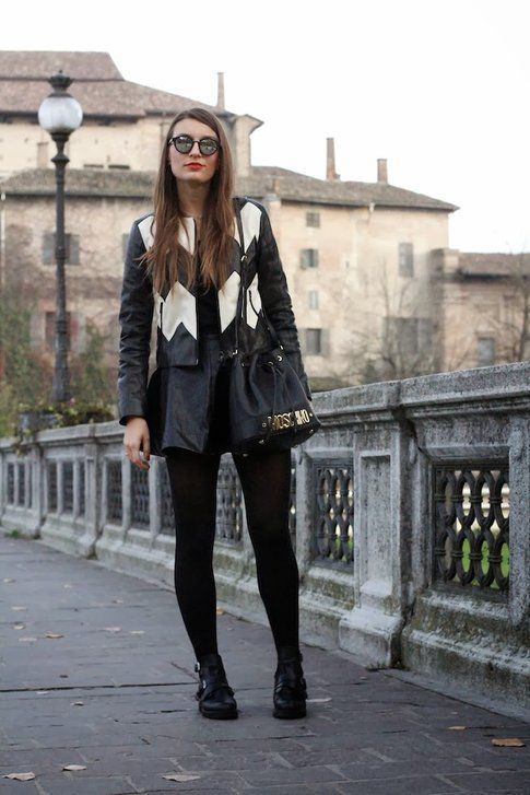 Black Leather: must have dell'autunno! Fonte- styleandtrouble.com