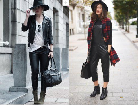 Black Leather: must have dell'autunno! Fonte- skylight.com