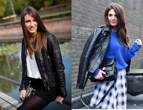 Black Leather: must have dell'autunno! Fonte- skylight.com e styleandtrouble.com