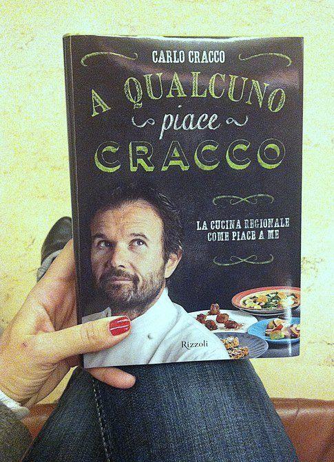 La copertina del nuovo libro di Carlo Cracco