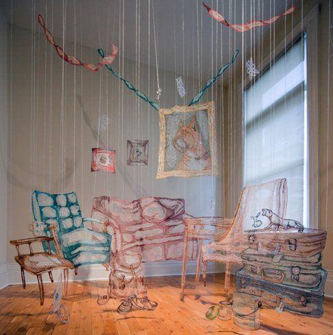 Amanda McCavour - Living Room. Foto Agata Piskunowicz