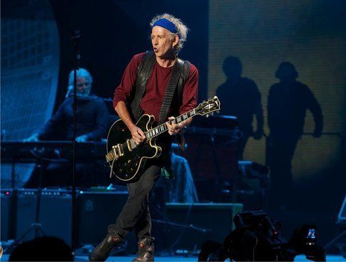 Keith Richards - foto Facebook ufficiale