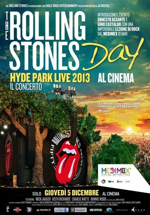 Locandina di R.S. Hyde Park Live 2013 - foto Movieplayer.it