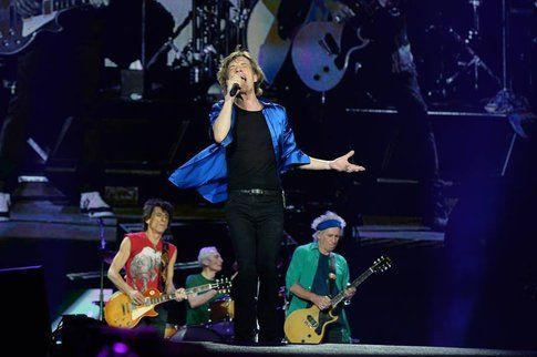 Mick Jagger, live at Hyde Park - foto Facebook ufficiale