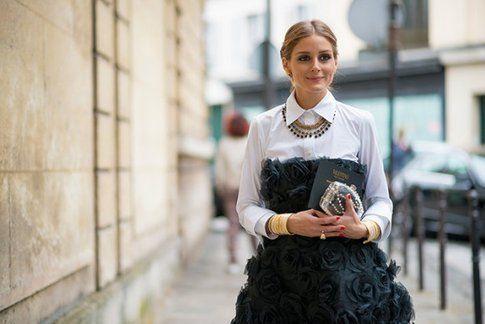 Un look di Olivia Palermo impreziosito dal' accessorio