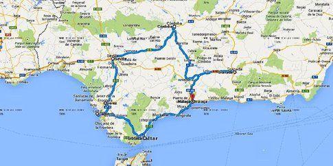 Andalusia - Itinerario di viaggio