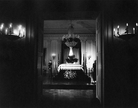La morte di Kennedy - foto da John F. Kennedy Presidential Library and Museum
