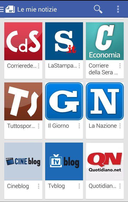 App android per leggere le news: Google Edicola