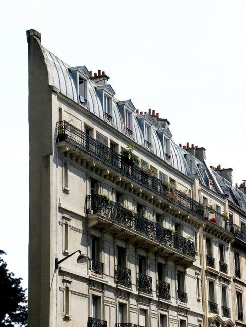 Skinny Haussmann Building, France