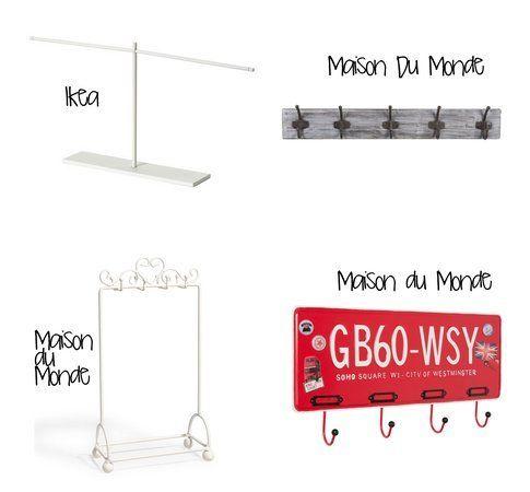 Portagioielli economici e versatili: perfetti per le collane! (fonte: Ikea, maison du monde)