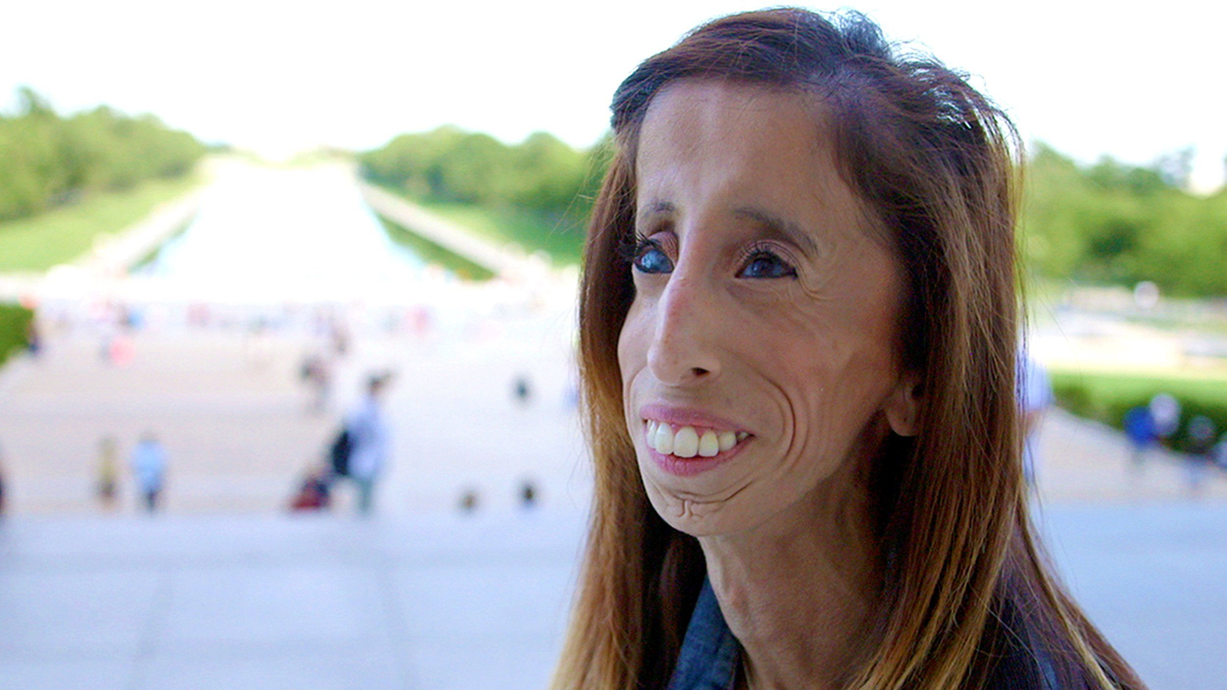 "Bullying victim turned global motivational speaker, Lizzie Velasquez takes on her newest role as an anti-bullying activist in Washington, DC in ""A Brave Heart: The Lizzie Velasquez Story."""