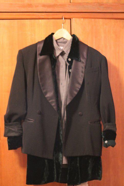 sovrapposizione con giacca e camicia