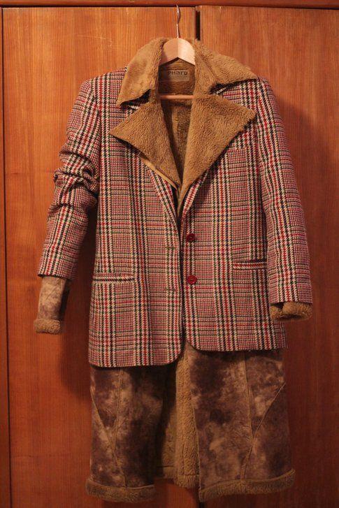 sovrapposizione con montoncino e giacca