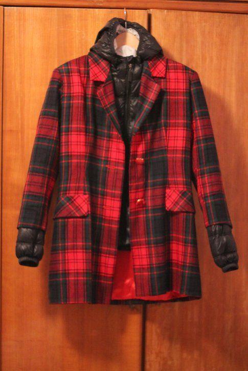 sovrapposizione con piumino e cappotto