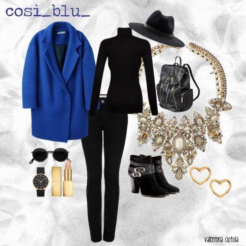 vestirsi di blu per un giorno normale