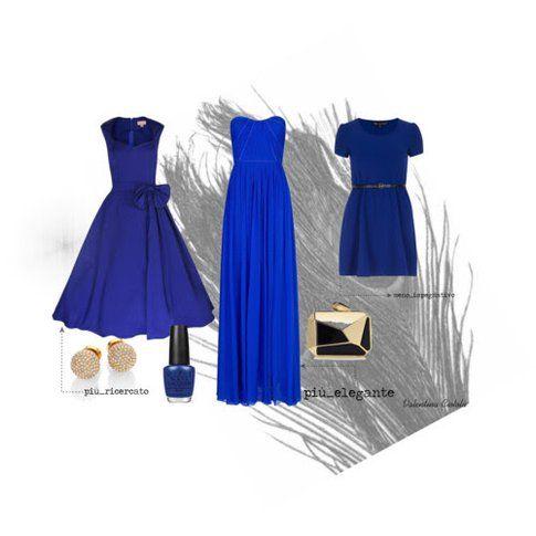 vestirsi di blu per un'occasione speciale
