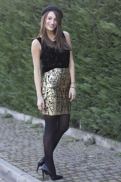 Outfit per Capodanno, il primo look di Carlotta!