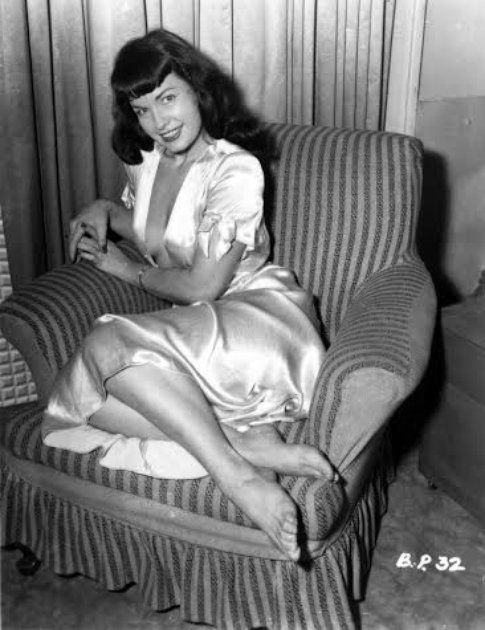 Betty Page - immagine concessa da Lorenza Fruci