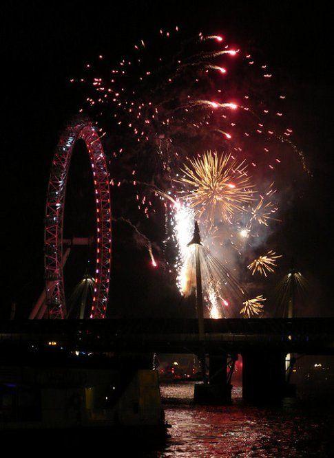 Capodanno a Londra - Foto Wobble-San