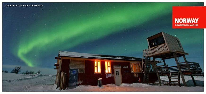 Aurora boreale: come trovarla con le app per smartphone