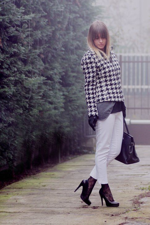 l'outfit casual chic di Roberta Bosetti