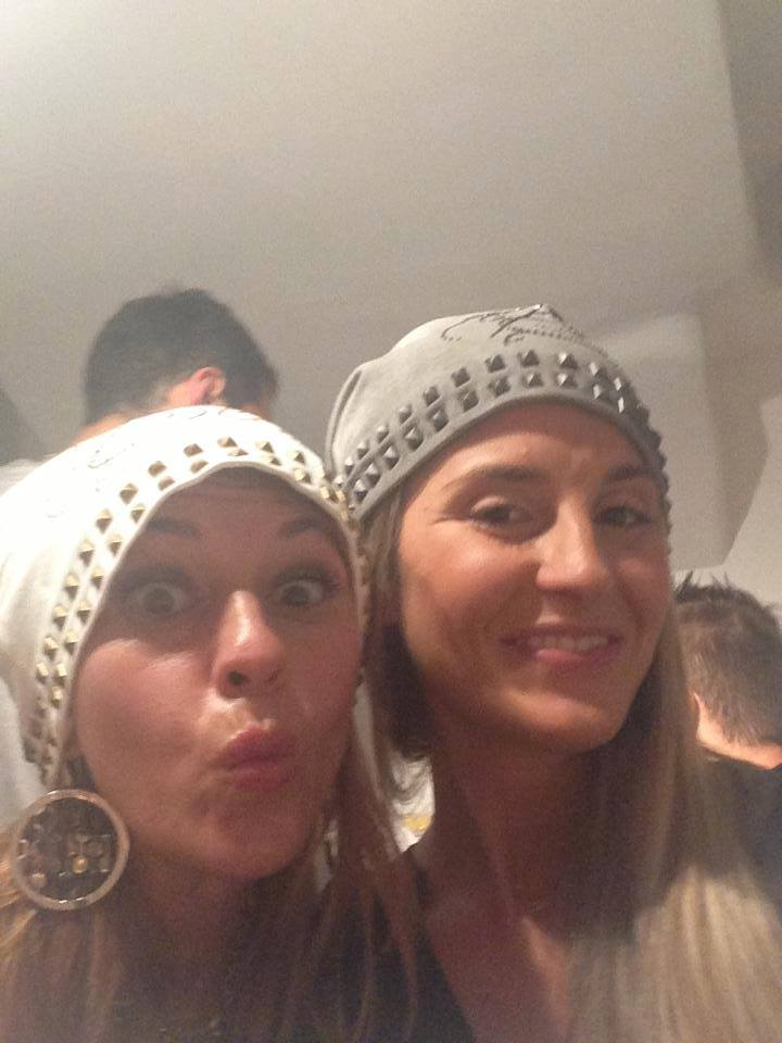 la Fashion Blogger Cristina Lodi e l'amica Elena Pavesi