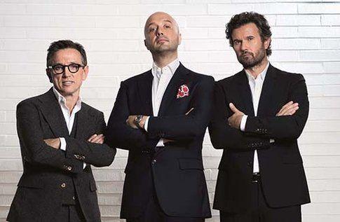 Bruno Barbieri, Joe Bastianich, Carlo Cracco