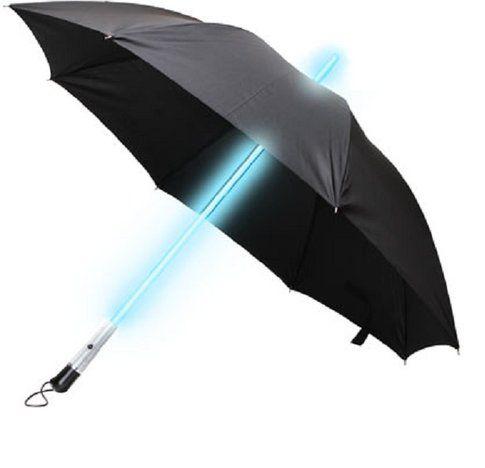 Ombrello spada laser.