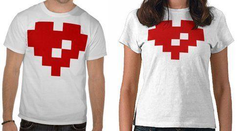 Maglia Pixel per due. Fonte: hongkiat.com