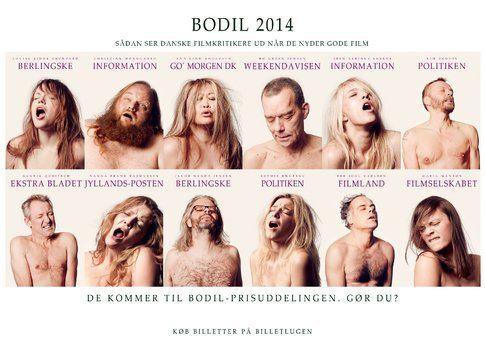 Manifesto Bodil Awards 2014 - immagine dalla pagina ufficiale www.bodilprisen.dk
