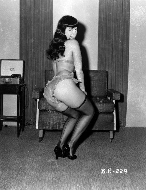 Betty Page - foto concessa da Lorenza Fruci